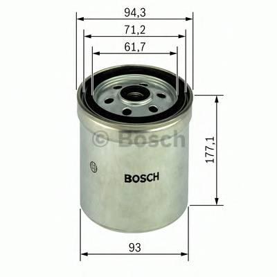 Топливные фильтры Топливный фильтр диз BOSCH арт. 1457434180