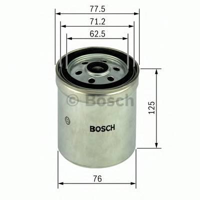 Топливные фильтры Топливный фильтр диз BOSCH арт. 1457434432
