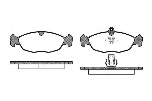 Тормозная система Гальмiвнi колодки, к-кт. PAGID арт. 239330