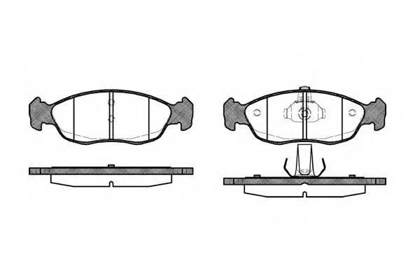 Тормозная система Гальмiвнi колодки, к-кт. PAGID арт. 246110