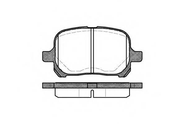 Тормозная система Гальмiвнi колодки, к-кт. PAGID арт. 262100