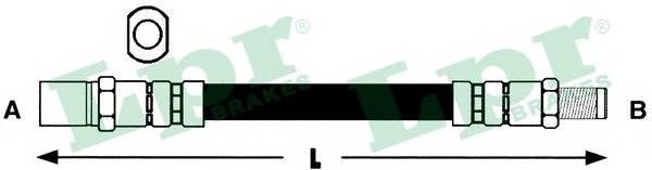 Тормозной шланг PAGID арт. 6T46199
