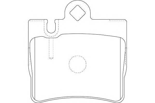 Тормозные колодки Тормозные колодки Wagner PAGID арт. WBP23078A