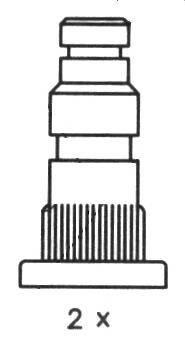 Тормозные колодки Тормозные колодки барабанные ABE арт. FSB411