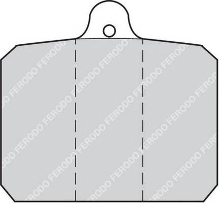 Тормозные колодки Тормозные колодки дисковые FERODO арт. FDB55
