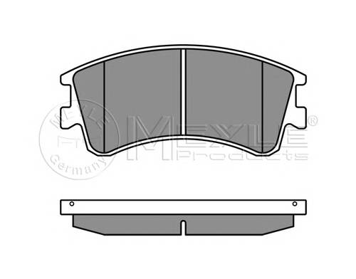 Тормозные колодки Тормозные колодки дисковые Mazda 6 GG, GY PAGID арт. 0252404618W