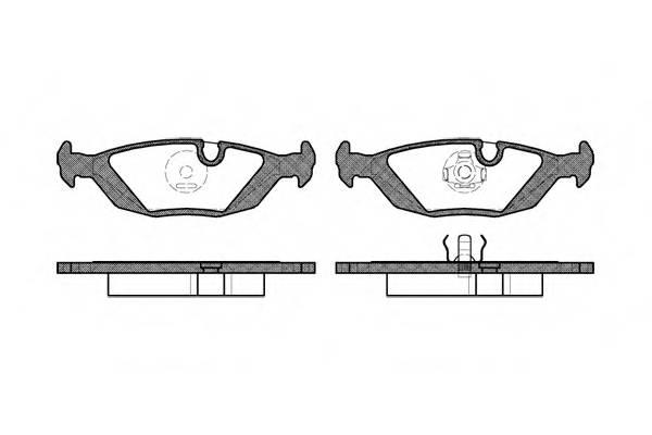 Тормозная система Гальмiвнi колодки, к-кт. PAGID арт. 215510