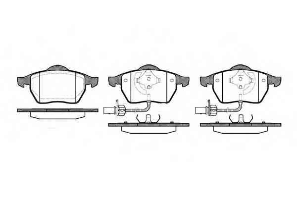Тормозная система Гальмiвнi колодки, к-кт. PAGID арт. 239022
