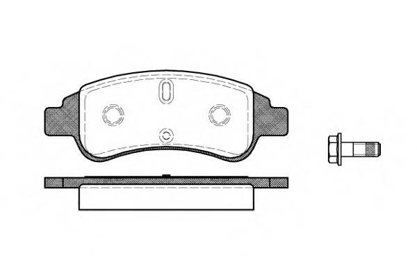 Тормозная система Гальмiвнi колодки, к-кт. PAGID арт. 284030