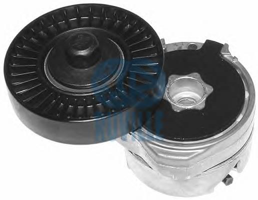 Ролик (с мех.) натяжной ремня генератора Clio2/Kangoo D7F/K7J +AC ->02/03 79x18 RUVILLE 55601