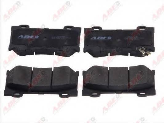 Гальмівні колодки, дискові ABE арт. C11095ABE