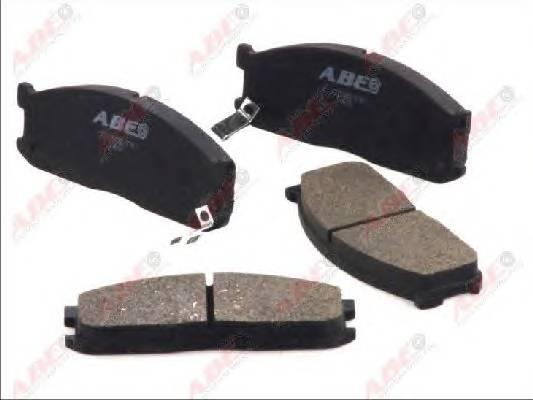Гальмівні колодки, дискові ABE арт. C13025ABE
