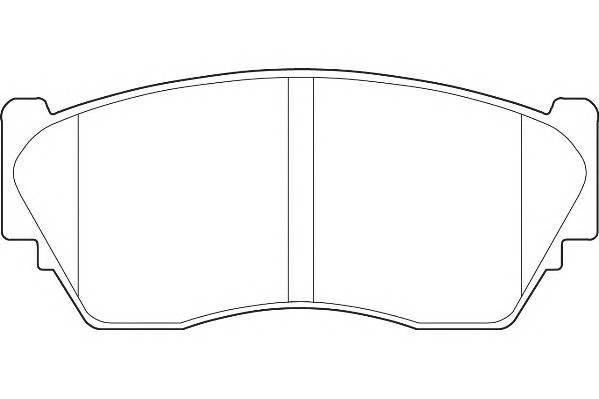 Тормозные колодки Тормозные колодки Wagner PAGID арт. WBP21657A