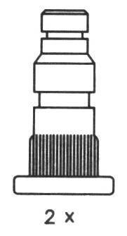 Тормозные колодки Тормозные колодки барабанные Ferodo ABE арт. FSB324