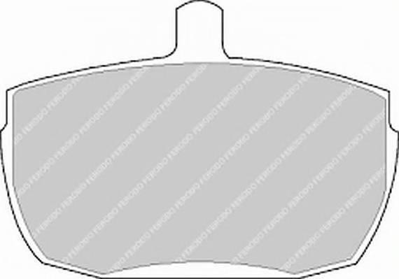 Тормозные колодки Тормозные колодки Ferodo PAGID арт. FVR829