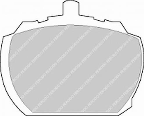 Тормозные колодки Тормозные колодки дисковые PAGID арт. FVR833