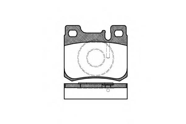 Тормозная система Гальмiвнi колодки, к-кт. PAGID арт. 215720
