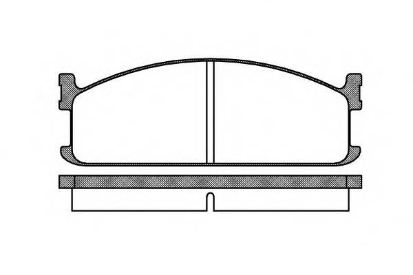 Тормозная система Гальмiвнi колодки, к-кт. PAGID арт. 220400