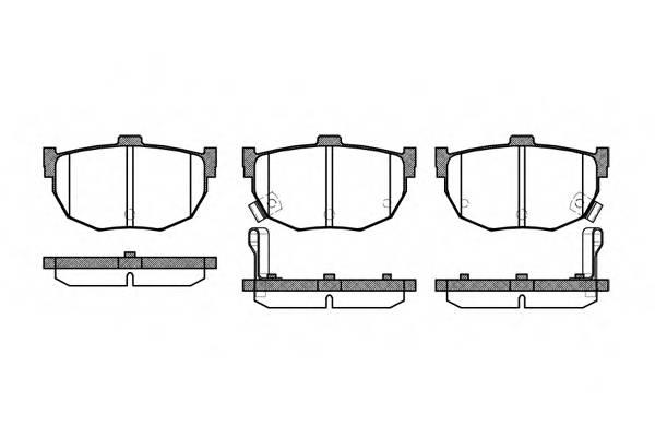 Тормозная система Гальмiвнi колодки, к-кт. PAGID арт. 229432