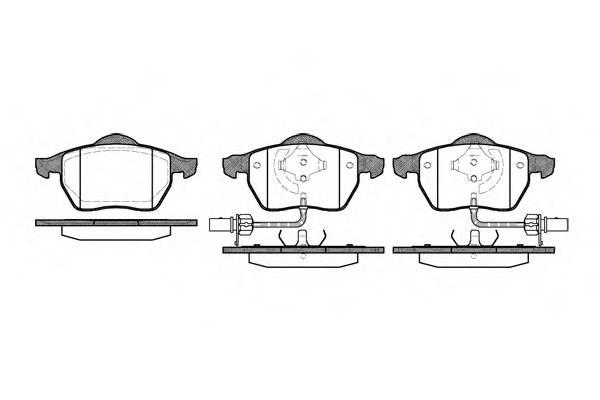 Тормозная система Гальмiвнi колодки, к-кт. PAGID арт. 239052