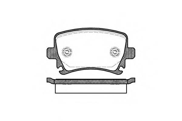 Тормозная система Гальмiвнi колодки, к-кт. PAGID арт. 2103100
