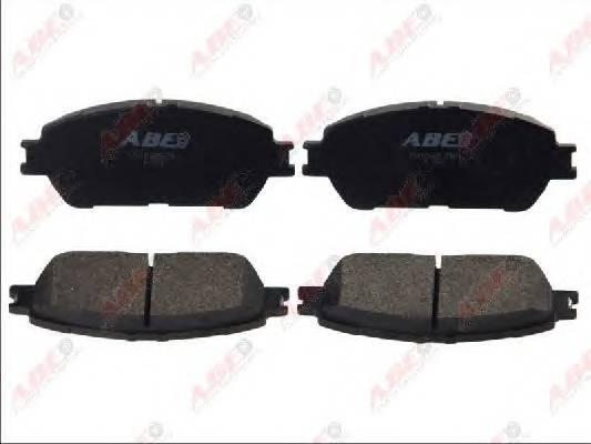 Гальмівні колодки, дискові ABE арт. C12125ABE