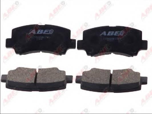 Гальмівні колодки, дискові ABE арт. C18002ABE