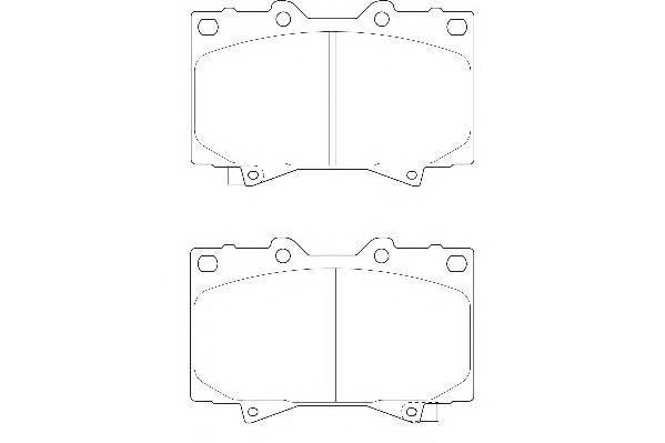 Тормозные колодки Тормозные колодки Wagner PAGID арт. WBP23524A