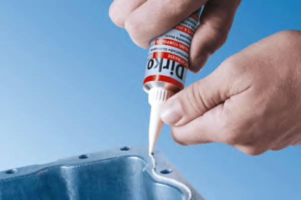 Герметики, клеи, жидкие прокладки Герметик DIRKO -40/+180 70ml ELRING арт. 036161