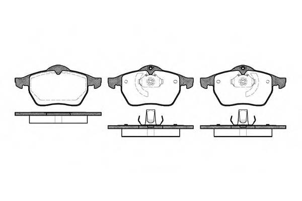 Тормозная система Гальмiвнi колодки, к-кт. PAGID арт. 239010