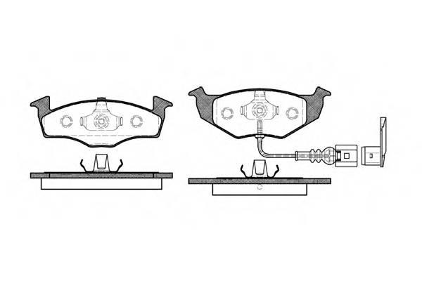 Тормозная система Гальмiвнi колодки, к-кт. PAGID арт. 260911
