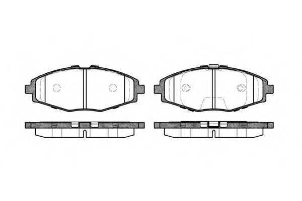 Тормозная система Гальмiвнi колодки, к-кт. PAGID арт. 269600