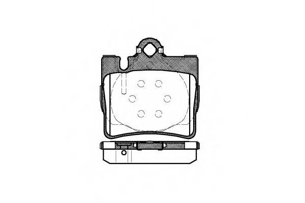 Тормозная система Гальмiвнi колодки, к-кт. PAGID арт. 277000