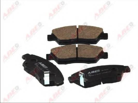 Гальмівні колодки, дискові ABE арт. C14033ABE