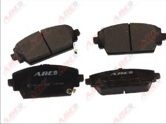 Гальмівні колодки, дискові ABE арт. C14042ABE