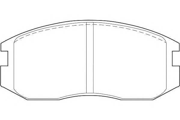Тормозные колодки Тормозные колодки Wagner PAGID арт. WBP21650A