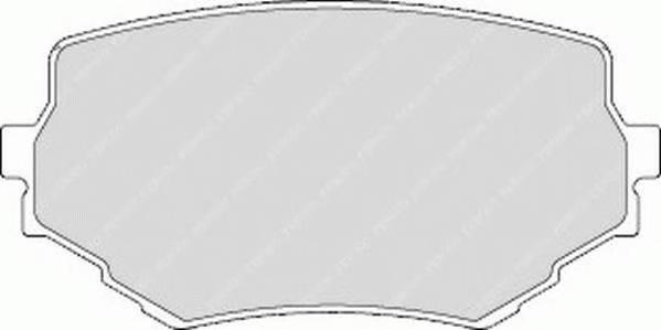 Тормозные колодки Тормозные колодки Ferodo ABE арт. FDB1565