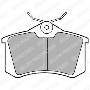 Гальмівні колодки, дискові PAGID арт. LP565