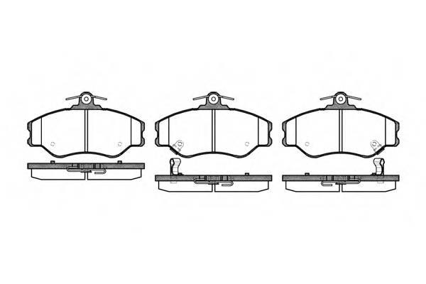 Тормозная система Гальмiвнi колодки, к-кт. PAGID арт. 249402