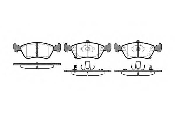 Тормозная система Гальмiвнi колодки, к-кт. PAGID арт. 267602
