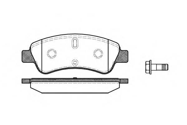 Тормозная система Гальмiвнi колодки, к-кт. PAGID арт. 284010