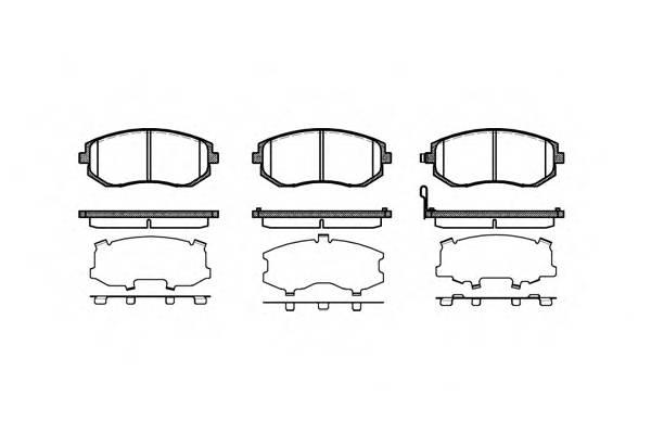 Тормозная система Гальмiвнi колодки, к-кт. PAGID арт. 295111