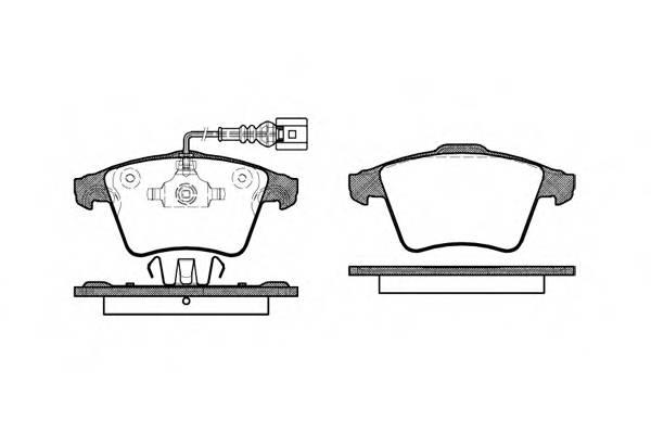 Тормозная система Гальмiвнi колодки, к-кт. PAGID арт. 2104522