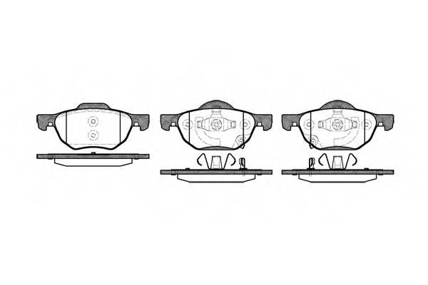 Тормозная система Гальмiвнi колодки, к-кт. PAGID арт. 2106802