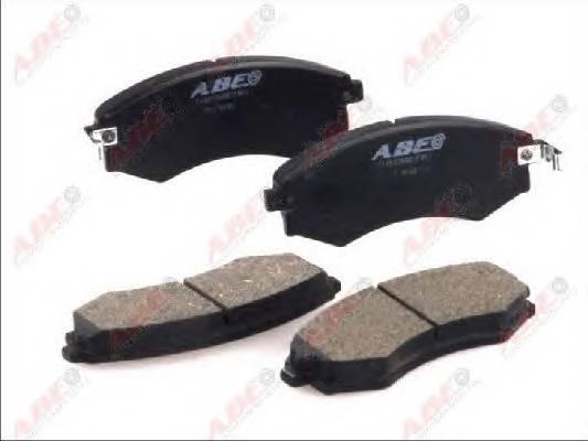 Гальмівні колодки, дискові ABE арт. C10503ABE