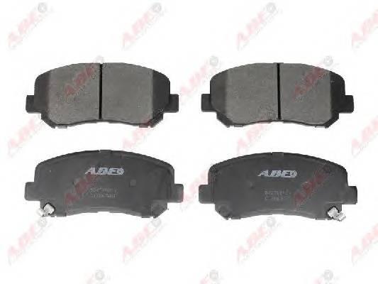 Гальмівні колодки, дискові ABE арт. C13067ABE