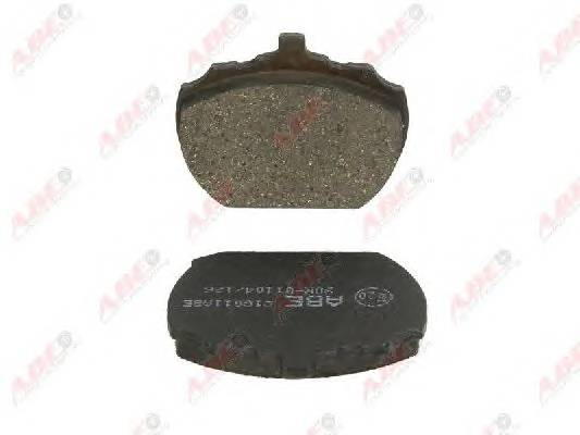 Гальмівні колодки, дискові ABE арт. C1G011ABE