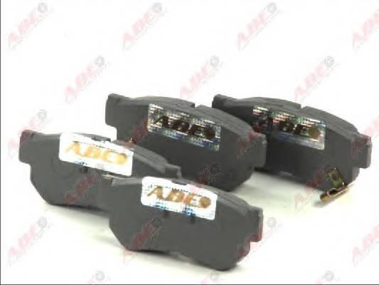 Гальмівні колодки, дискові PAGID арт. C20510ABE