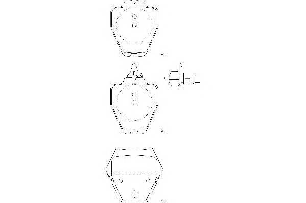 Тормозные колодки Тормозные колодки Wagner PAGID арт. WBP23280A