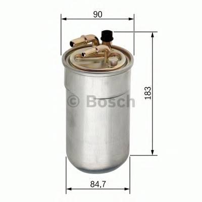 Топливные фильтры Топливный фильтр BOSCH арт. 0450906503
